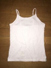 * Childrens Place solid black white gray cami tank top Medium  7 8 girl