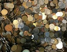 More details for 1 kilo mixed unsorted world foreign bulk coins free post 1kg