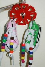 Double Sneakers with beads Jk949