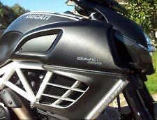 Ducati Diavel carbon radiator guard set 96904110A NEW in box