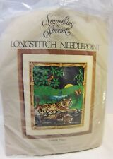 Something Special Jungle Tiger Longstitch Needlepoint Kit Candamar Designs 16x20