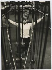 Salle de sport, 1967 Vintage silver print Tirage argentique  20x30  Circa
