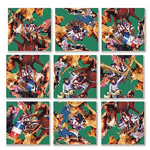 B Dazzle Rodeo Scramble Squares 9 Piece Puzzle