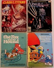 KRULL Marvel Movie Adaptation Graphic Novel 1983 + Clash of the Titans, others