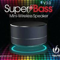 Bluetooth 5.0 Speaker Mini Wireless Portable Fm USB Radio Mp3 Super Bass St O5L8