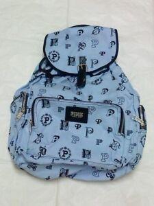 Victoria's Secret PINK Backpack Lavender Monogram NEW