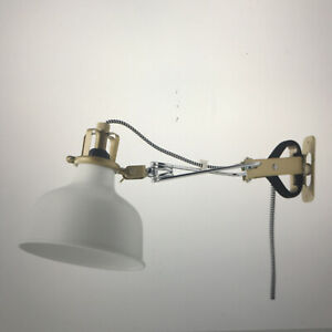 IKEA RANARP Wall/Clamp Spotlight NEW Off-White INCLUDES FREE BULB!
