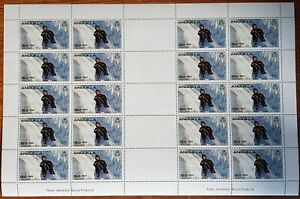 Anguilla 1980 Olympic Games/Luge/Sports 20 stamp M/S