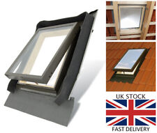 Fenstro Double Glazed Skylight Access Rooflight Window 45x73 integrated flashing