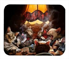 Item#1767 Cats Playing Poker Mouse Pad