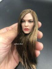"""1/6 Female Head Sculpt GC031C  for 12"""" Action Figure Doll PHICEN SUNTAN"""