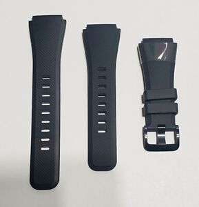 NEW Original Black Samsung WRIST BAND STRAP for Galaxy Gear S3 Frontier Watch