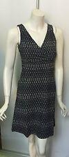 Eddie Bauer TRAVEX Aster Crossover Dress Cross Over Empire Blacksmoke Gray L