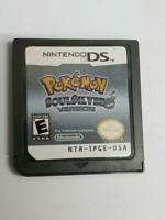 NDS Pokemon SOULSILVER (Nintendo DS, 2010 ) - USA Version (NDS,ndsl,ndsxl)