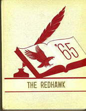 1965 North Tama,Traer,Clutier, Iowa IA, Elementary, High School Redhawk Yearbook