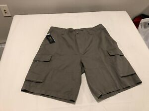 """NWT $69.99 Polo Ralph Lauren Mens Relaxed 10"""" Cargo Shorts Gray Size 36"""