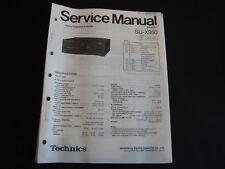 Original Service Manual Technics SU-X950