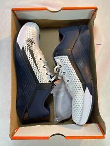 Nike Metcon 6 Training Shoe 'White-Navy/Midnight' sz: M 11 | W 12.5 (CK9388-191)