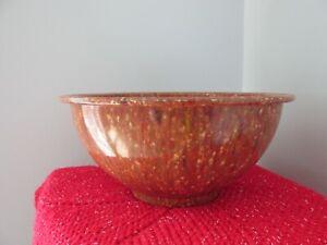 Vintage Confetti Melmac Bowl  Spatter Melamine  118 Texas Ware?
