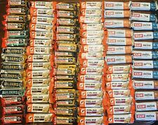 90 Clif NonGmo Builders Whey Protein Gatorade Prime Fuel Energy Bars ~9 Flavors!