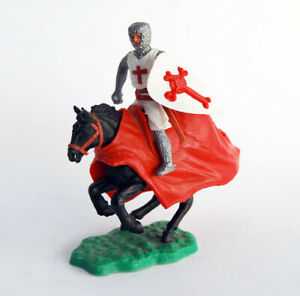 Timpo Toys England Crusader Mounted Knight