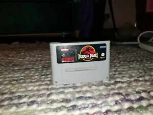 Jurassic Park Super Nintendo SNES Cartridge PAL