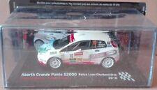 "DIE CAST "" ABARTH GROß PUNTO S2000 RALLYE LYON CHARBONNIERES 2010 "" SKALA 1/43"