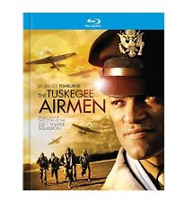 THE TUSKEGEE AIRMEN (Laurence Fishburne) -  Blu Ray - Sealed Region free