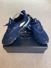 Prada trainers men blue size 7 euro 41