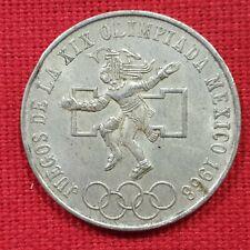 VICUSCOIN - MEXICO - SILVER - 25 PESOS - YEAR 1968 OLYMPICS