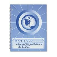 The Hubbard Company SA98 Student Assignment Book 40 Weeks - Laminated Cover
