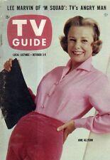 1959 TV Guide October 3 - Dick Clark; James Michener; Lee Marvin; June Allyson