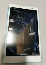 Lenovo Tablet TB3-850F White & BLUE Faulty