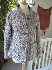 """Animal Ladies Pink & Grey Winter Jacket Size S/M """"Excellent Condition"""""""