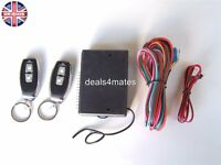 Universal Remote Central Locking Upgrade Kit  Keyless Entry -+2 Remotes Fobs