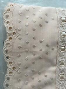 Vintage Sleeping Beauty Embroidered Lace Florence single bed quilt doona cover