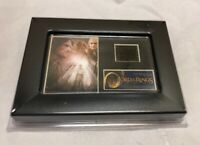 Film Cell Genuine 35mm Framed Matted Lord of the Rings Two Towers Minicell Strip