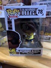Funko Pop! Rocks #78 The Notorious B.I.G. with Jersey W/Pop Shield