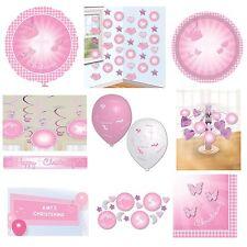 Articoli rosa Amscan battesimo per feste e occasioni speciali