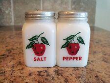 Vintage McKee Tipp APPLE Salt & Pepper Shakers