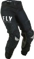 Fly Racing Womens Black/White Lite Dirt Bike Pants MX ATV 2020