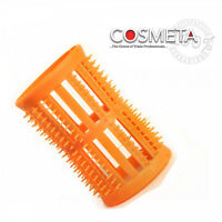 Hair setting rollers Skelox and plastic pins hairtools Peach 40mm