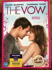 Channing Tatum Rachel McAdams THE VOW ~ Tear Jerker Drama | UK DVD w/ Slipcover