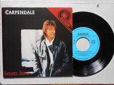 Schallplatte  ST45 Vinyl.  Carpendali Laura Jane