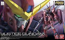 Bandai gundam RG 1/144 ZGMF-X09A Justice Gundam Model kit 176512