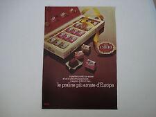 advertising Pubblicità 1973 FERRERO MON CHERI