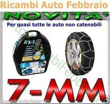 Catene da neve 7mm Lampa RX-7 BMW Serie 3 con pneumatico 225/40r18 GR.9.7