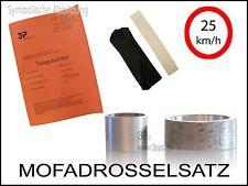 Mofadrossel Piaggio NRG 50 mc2 FIN: ZAPC04  Mofa Drossel Satz