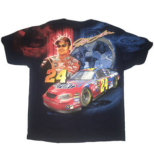 New 2005 Jeff Gordon Chase Authentics T-Shirt  X-Large NASCAR All Over Print