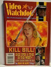 Video Watchdog Magazine No.110 Kill Bill  Dead or Alive Excellent Condition